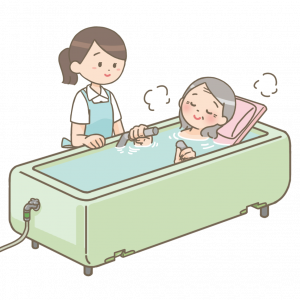 デイサービスで入浴をして、清潔を保とう!